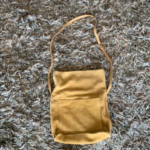 Urban Outfitters suede crossbody bag